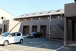 愛知県豊橋市神野新田町字チノ割の賃貸アパートの外観