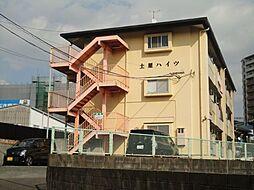 福岡県久留米市諏訪野町の賃貸アパートの外観