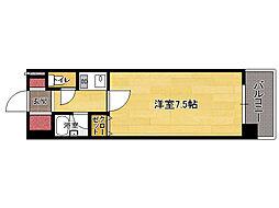 福岡県福岡市東区箱崎5丁目の賃貸マンションの間取り