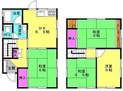 [一戸建] 兵庫県加古郡播磨町本荘2丁目 の賃貸【/】の間取り