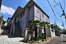 大阪府松原市阿保5丁目の賃貸アパートの外観