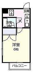 シロタビル[3階]の間取り