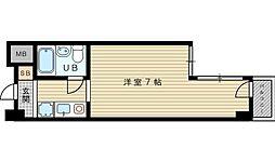 ピュアハイツ吹田壱番館[3階]の間取り