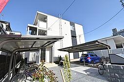 大阪府大阪市鶴見区緑1丁目の賃貸アパートの外観