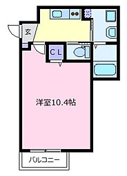 エヌエムサンカンテドゥ[3階]の間取り