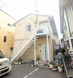 福岡県福岡市早良区百道3丁目の賃貸アパートの外観