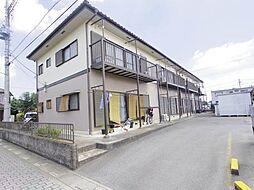 埼玉県北本市中丸1丁目の賃貸アパートの外観