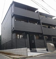 東京都足立区加賀1丁目の賃貸アパートの外観