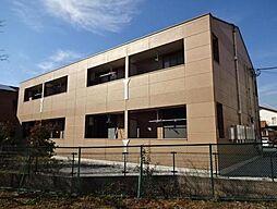 埼玉県日高市大字鹿山の賃貸アパートの外観