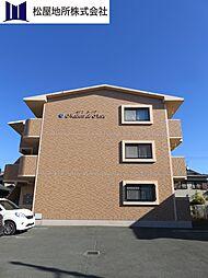 愛知県豊橋市西幸町字笠松の賃貸マンションの外観