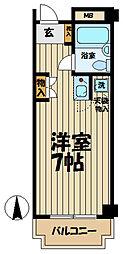 福澤ビル[507号室]の間取り