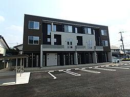 栃木県宇都宮市今宮1の賃貸アパートの外観
