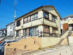 神奈川県横浜市青葉区梅が丘の賃貸アパートの外観