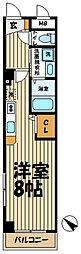 レジデンス北鎌倉[203号室]の間取り