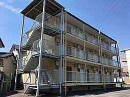 愛知県岡崎市東蔵前1丁目の賃貸マンションの外観