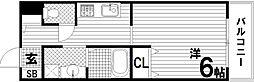 KHKコート板宿[4階]の間取り