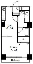 内宮シティハイツ[4階]の間取り