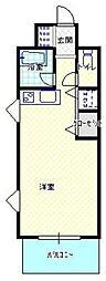 大原興産ビル[4階]の間取り