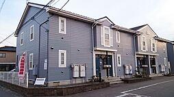 新潟県新潟市東区空港西2丁目の賃貸アパートの外観