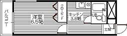 コーポプレシャス[4階]の間取り