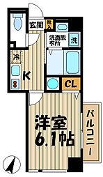 神奈川県鎌倉市大船1丁目の賃貸マンションの間取り