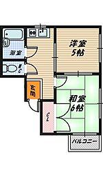 大阪府大阪市城東区鴫野東1丁目の賃貸マンションの間取り