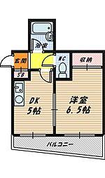 メゾン斉藤[2階]の間取り