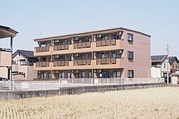 愛知県岡崎市北野町の賃貸アパートの外観