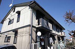 栃木県宇都宮市上戸祭4丁目の賃貸アパートの外観