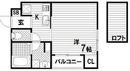グランメール大塚町[2階]の間取り