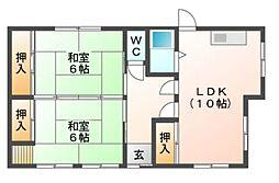 [一戸建] 愛知県岡崎市江口2丁目 の賃貸【/】の間取り