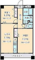 K・S柿生[6階]の間取り