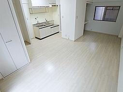 パル東須磨の2Kから1Rにリノベーション済のキレイな室内