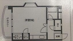 エンジョイスペース西新[305号室]の間取り