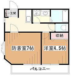 尾崎ビル[3階]の間取り