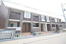 大阪府堺市堺区南旅篭町東2丁の賃貸アパートの外観