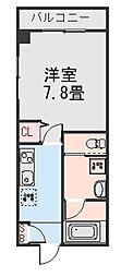 Kフラッツ516[305号室]の間取り