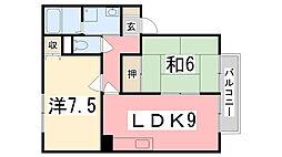 アーバン松[2階]の間取り