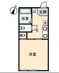 シティハイム ヒトミ[2階]の間取り