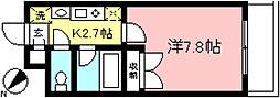 Piarefre[2階]の間取り
