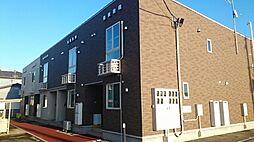 新潟県新潟市南区七軒の賃貸アパートの外観