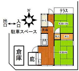 [一戸建] 福岡県太宰府市観世音寺2丁目 の賃貸【/】の間取り