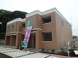 埼玉県川口市大字東貝塚の賃貸アパートの外観