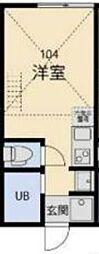 ルヴァンス二俣川[1階]の間取り