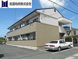 愛知県豊川市伊奈町古当の賃貸アパートの外観