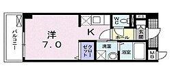 アルモニア エンネ[4階]の間取り