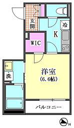 仮)下丸子3丁目シャーメゾン[202号室]の間取り