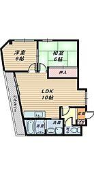 アーバニティ香ヶ丘[3階]の間取り