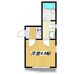 ルミエール平井[103号室]の間取り