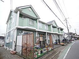 神奈川県厚木市温水西2丁目の賃貸アパートの外観